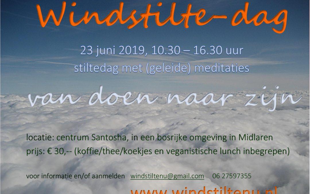 Windstilte-dag op 23 juni 2019